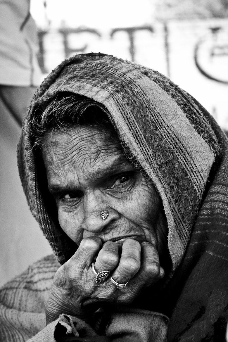 Photograph Old Lady By The Road by sanjeev kar on 500px