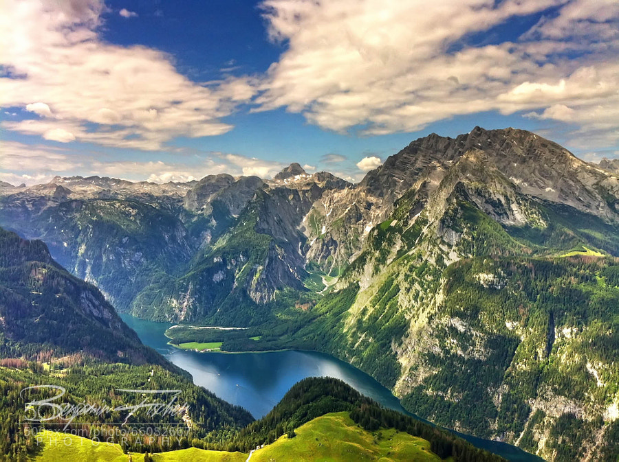 """Photograph Königssee """"Lake of the King"""" by Benjamin Fischer on 500px"""