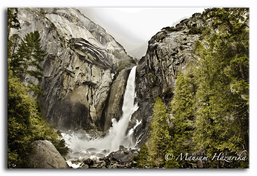 Photograph Yosemite Falls by Mausam Hazarika on 500px