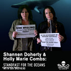 Постер, плакат: ActressesDirectorsProducers from the popular TV show Charmed Shannen Doherty & Holly Marie Combs s