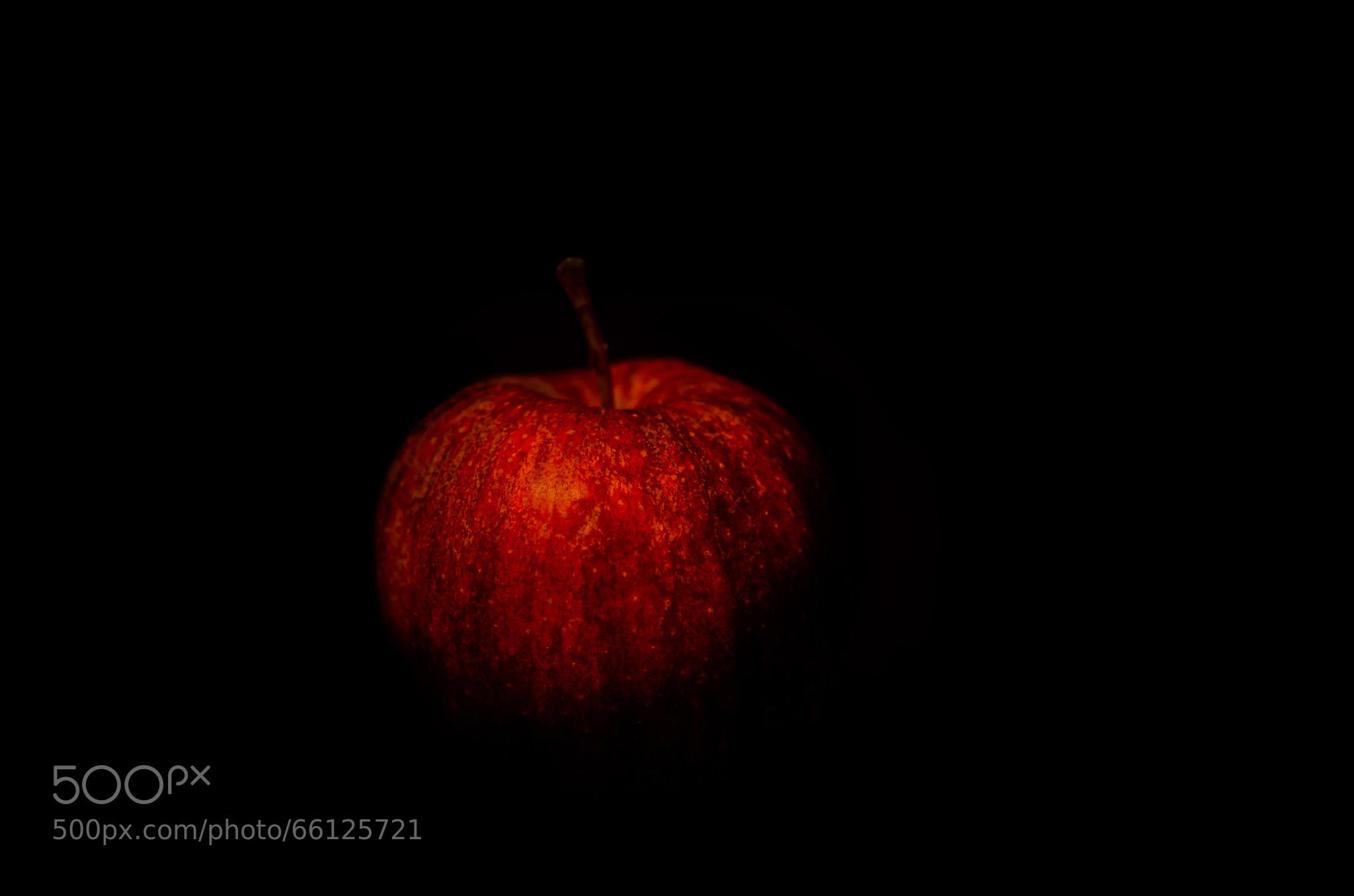 Portrait of an Apple