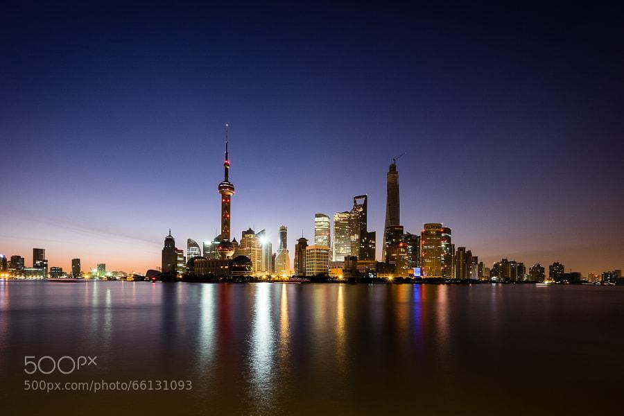 Pudong At Dawn