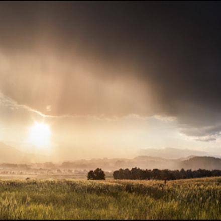 evening thunderstorms......
