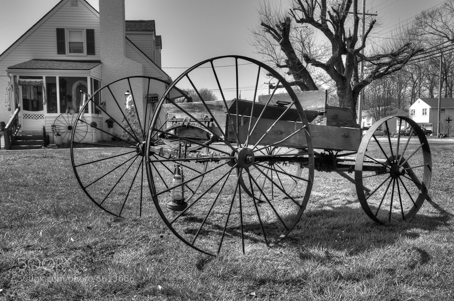 Photograph Antique Cart by Mitch Stein on 500px