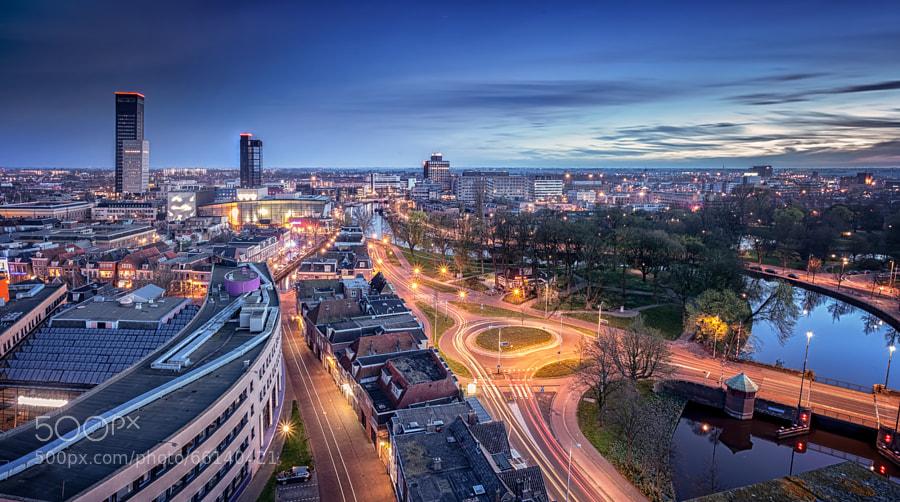 Photograph Leeuwarden @ Night by Martijn van Dellen on 500px