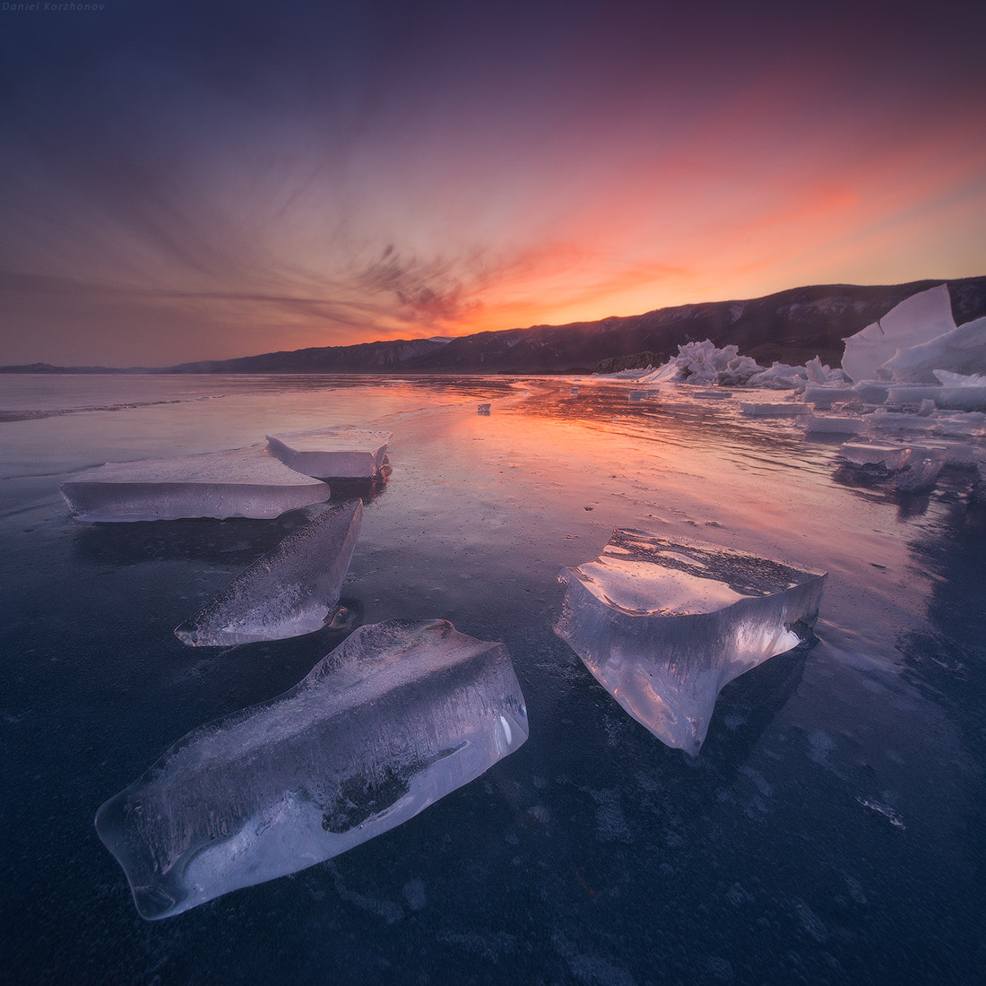 Photograph Fire and Ice by Daniel Kordan on 500px