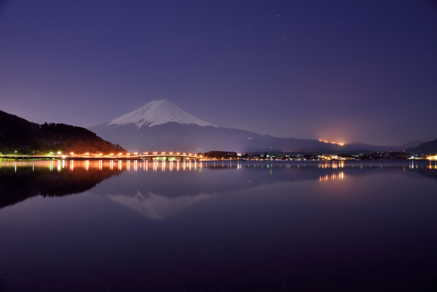 Floating Fuji by Takashi on 500px.com