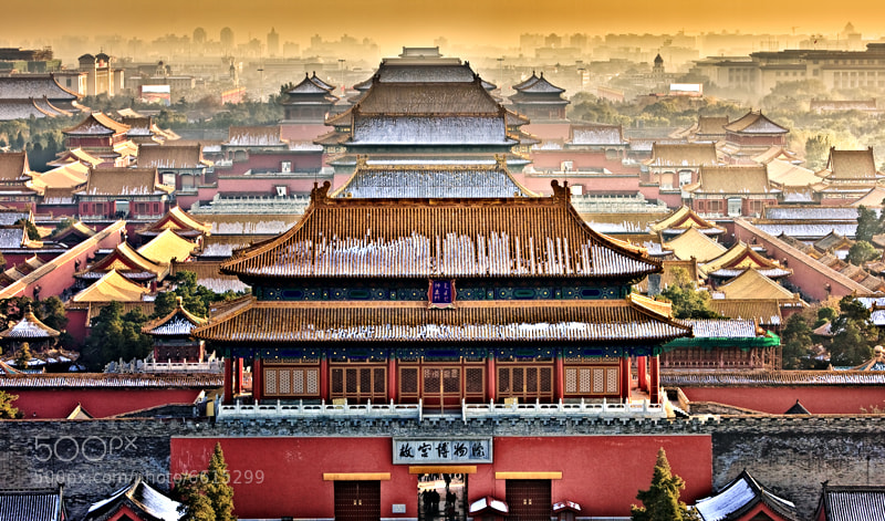 Photograph The Forbidden Palace, Beijing, China by William Yu on 500px