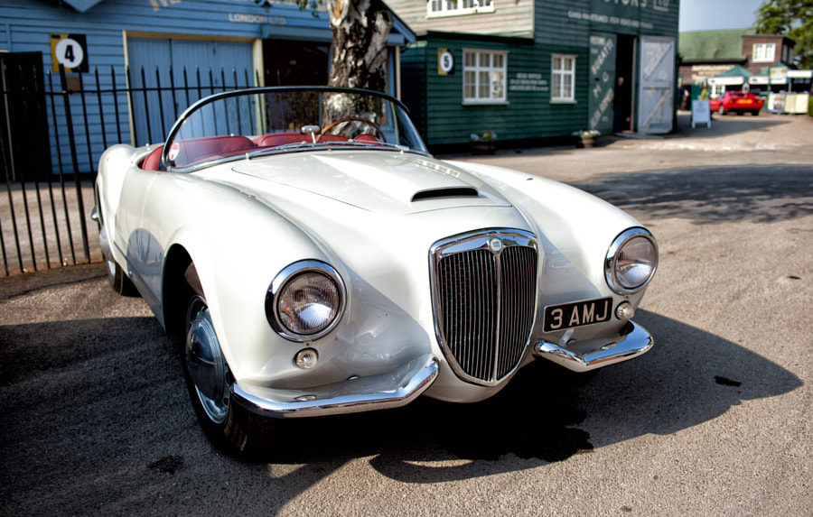 Lancia Aurelia @ Brooklands