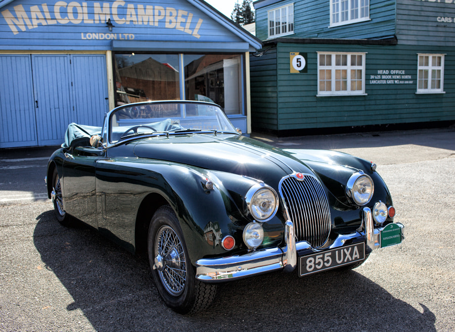 Jaguar XK150 @ Brooklands
