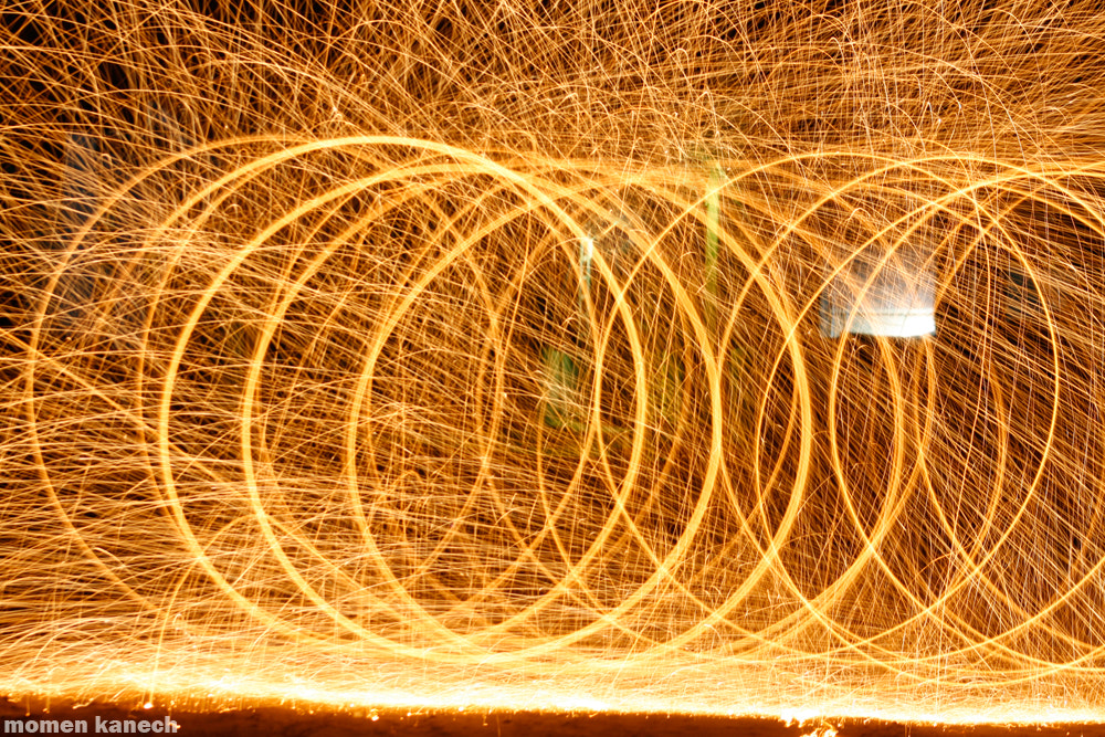 Photograph light painting by Momen Kanech on 500px