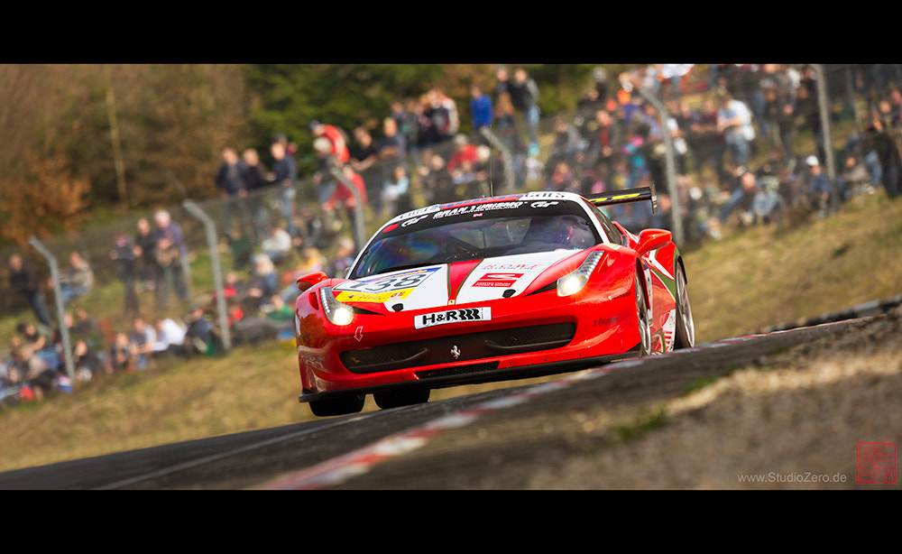 Photograph Racing One GmbH - Ferrari 458 Challenge base VLN-Race Car by Shurazero Hide Ishiura /  StudioZero.de on 500px
