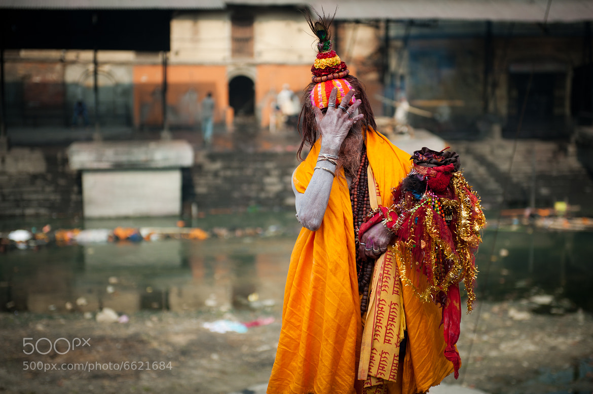Photograph Sadhu (Holy man) by Lenson Sim on 500px