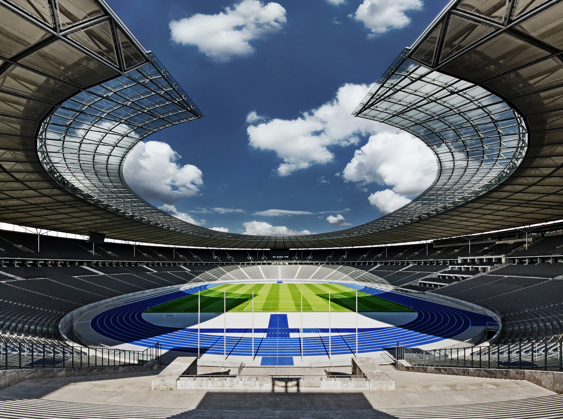 Photograph Olympiastadion  Berlin by Ralf Wendrich on 500px