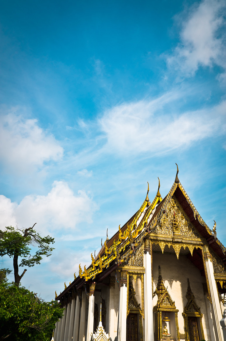 Photograph Thai Temple in Sunny Songkran Day by Cool End Photography on 500px