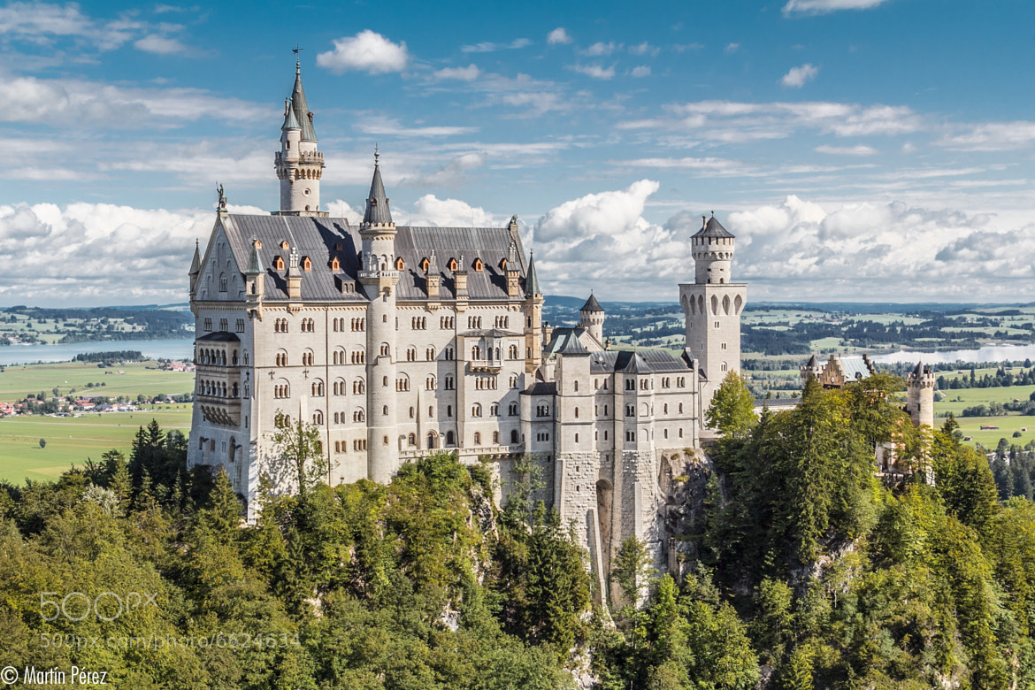 Photograph Neuschwanstein Castle (III) by Martín Pérez on 500px