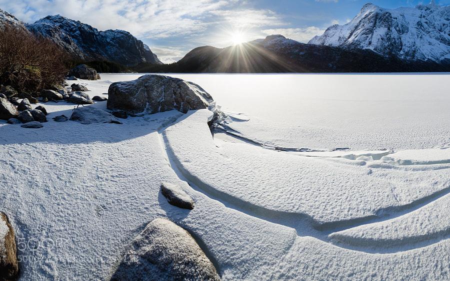 Frozen Storvatnet #4