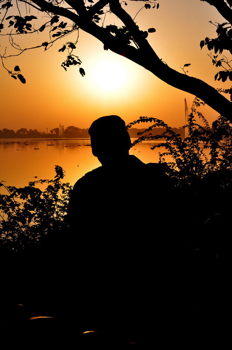 Photograph Silhoutte.. early morning by Atul Aggarwal on 500px