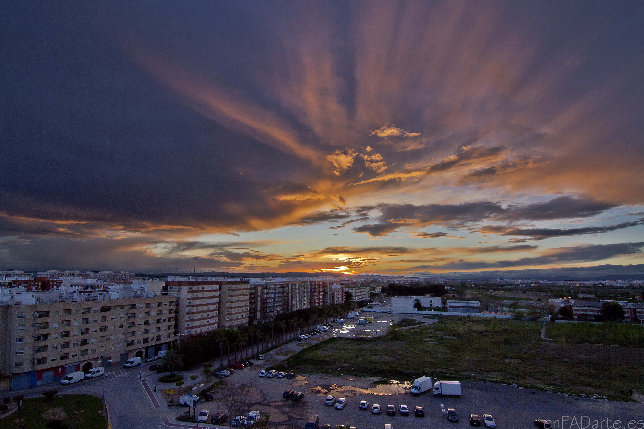 Photograph FROM MY BALCONY - APOCALIPTIC by Francisco Alcantud on 500px