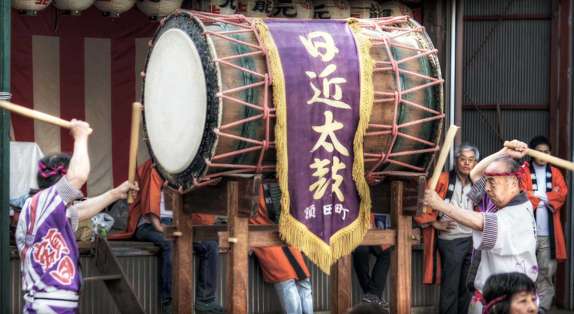 Photograph Pounding the Taiko Drum by David LaSpina on 500px