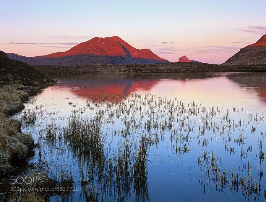 Photograph Loch an Ais Sunrise by Ian Cameron on 500px