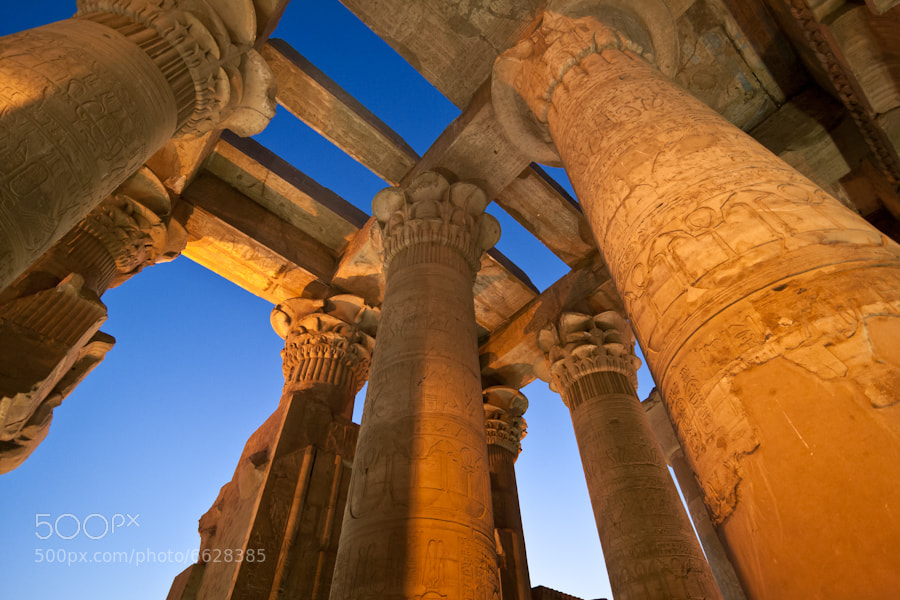 Photograph Templo de Kom Ombo by Jose Agudo on 500px