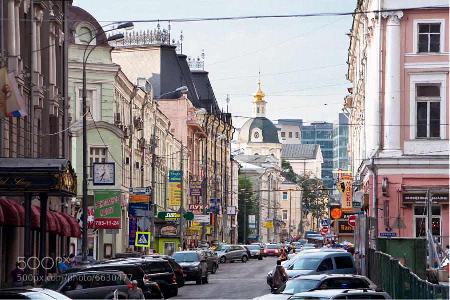 Photograph street of Moscow by Slava Ryabukhin on 500px