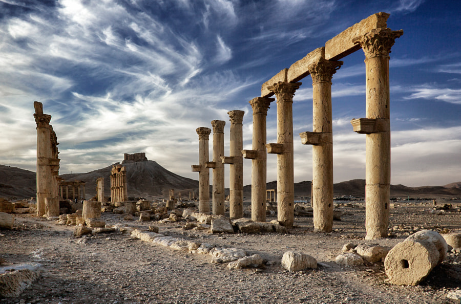 Photograph Afternoon in Palmyra by Aristotle Kallis on 500px