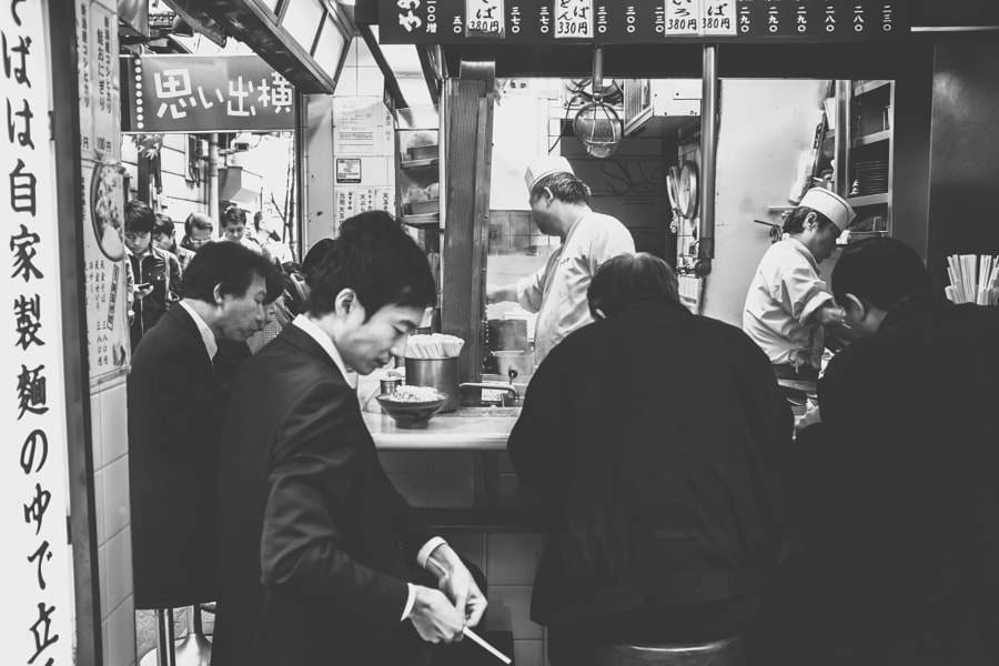 Photograph Let's Get Ready to Ramen - Tokyo, Japan by Lime Fly Photography by Juan Gonzalez on 500px