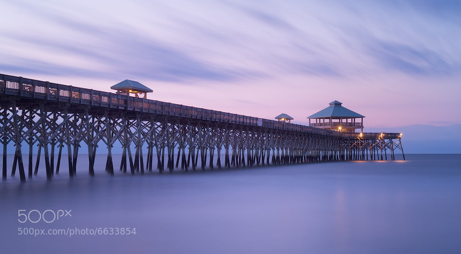 Photograph Folly Pier by Tony Sweet on 500px