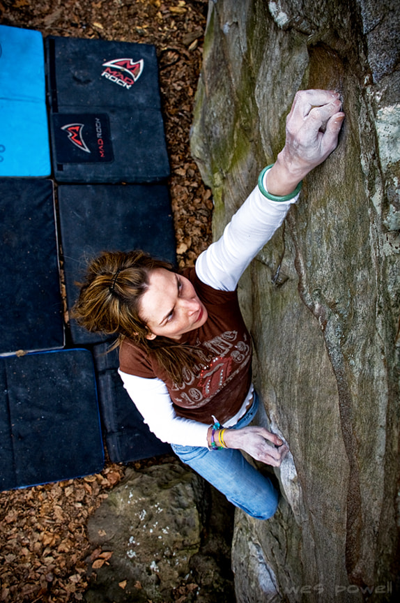 Photograph Bouldering by Wes Powell on 500px