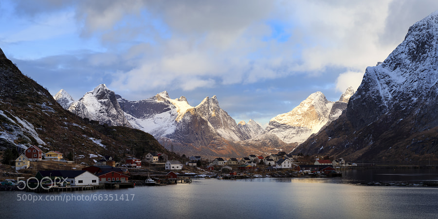 Reine on a winter afternoon #1