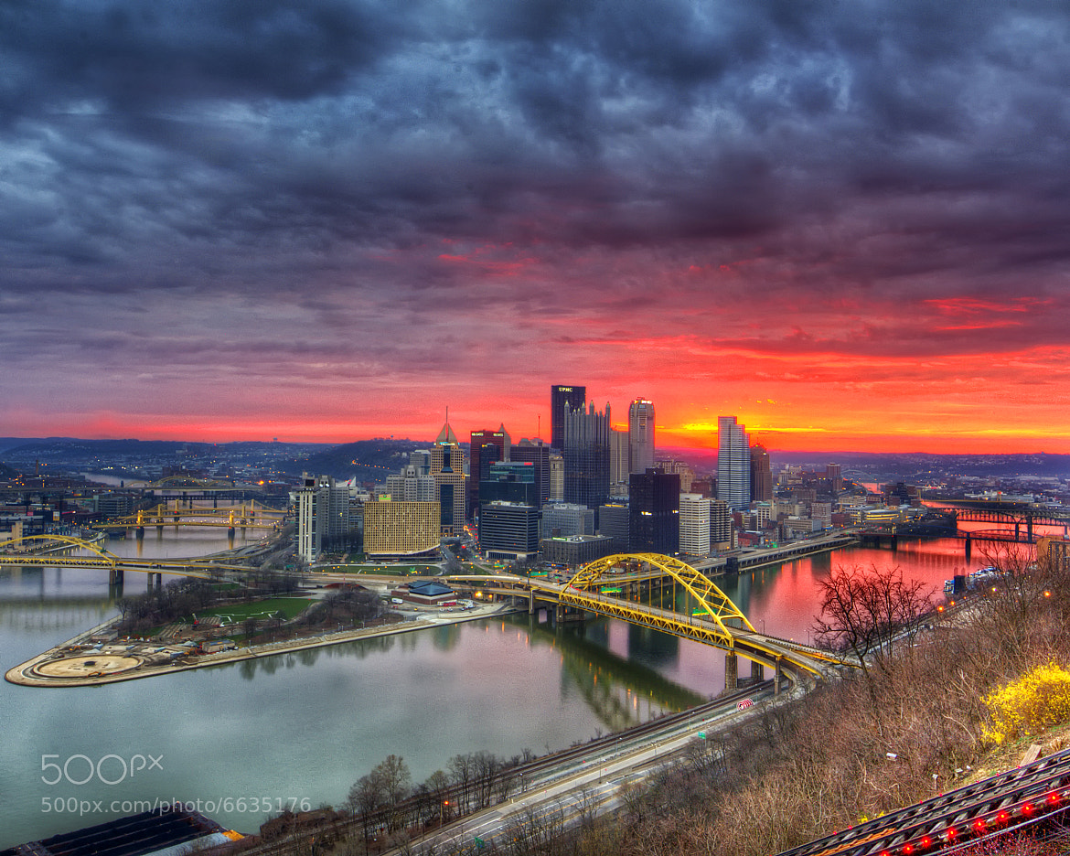 Photograph Sunrise over Pittsburgh by Ziaur  Rahman on 500px