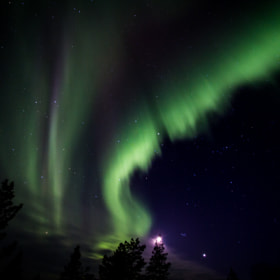 Northern Lights in Lapland by Miguel Páez (Kebrantin) on 500px.com