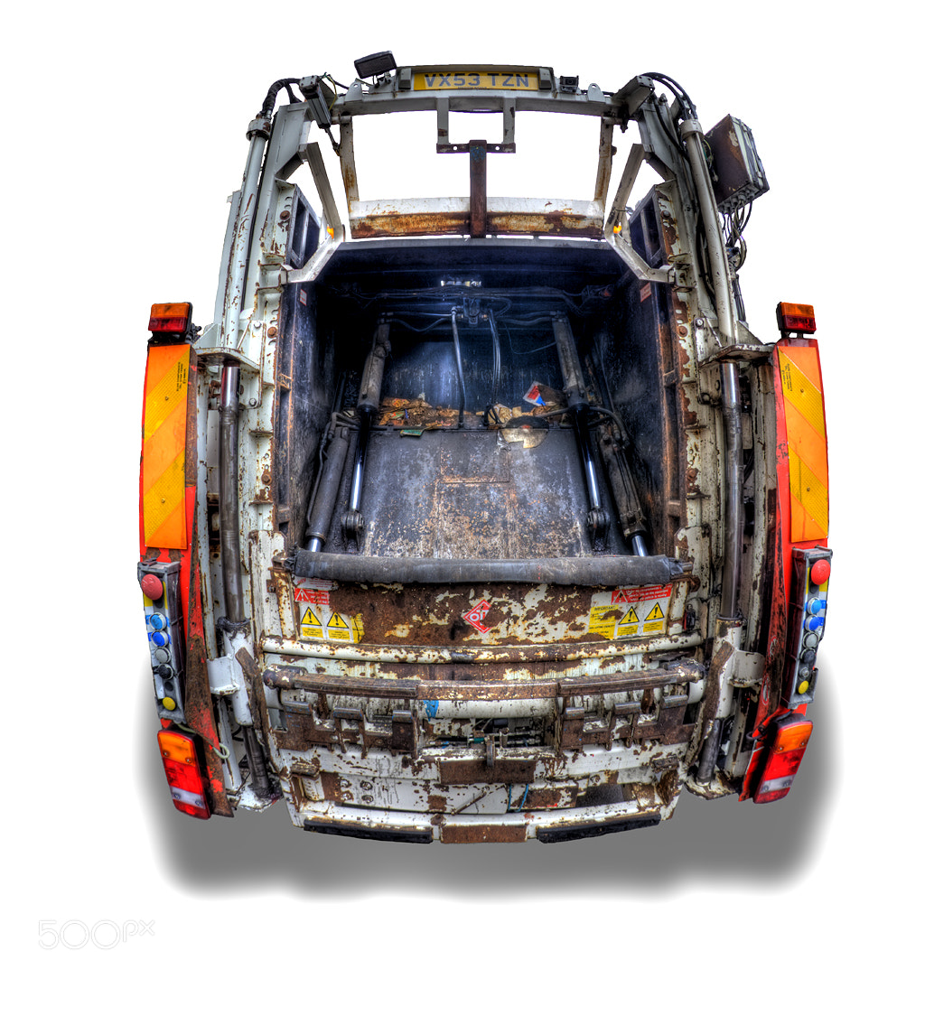 Photograph Garbage truck by Ander Aguirre on 500px
