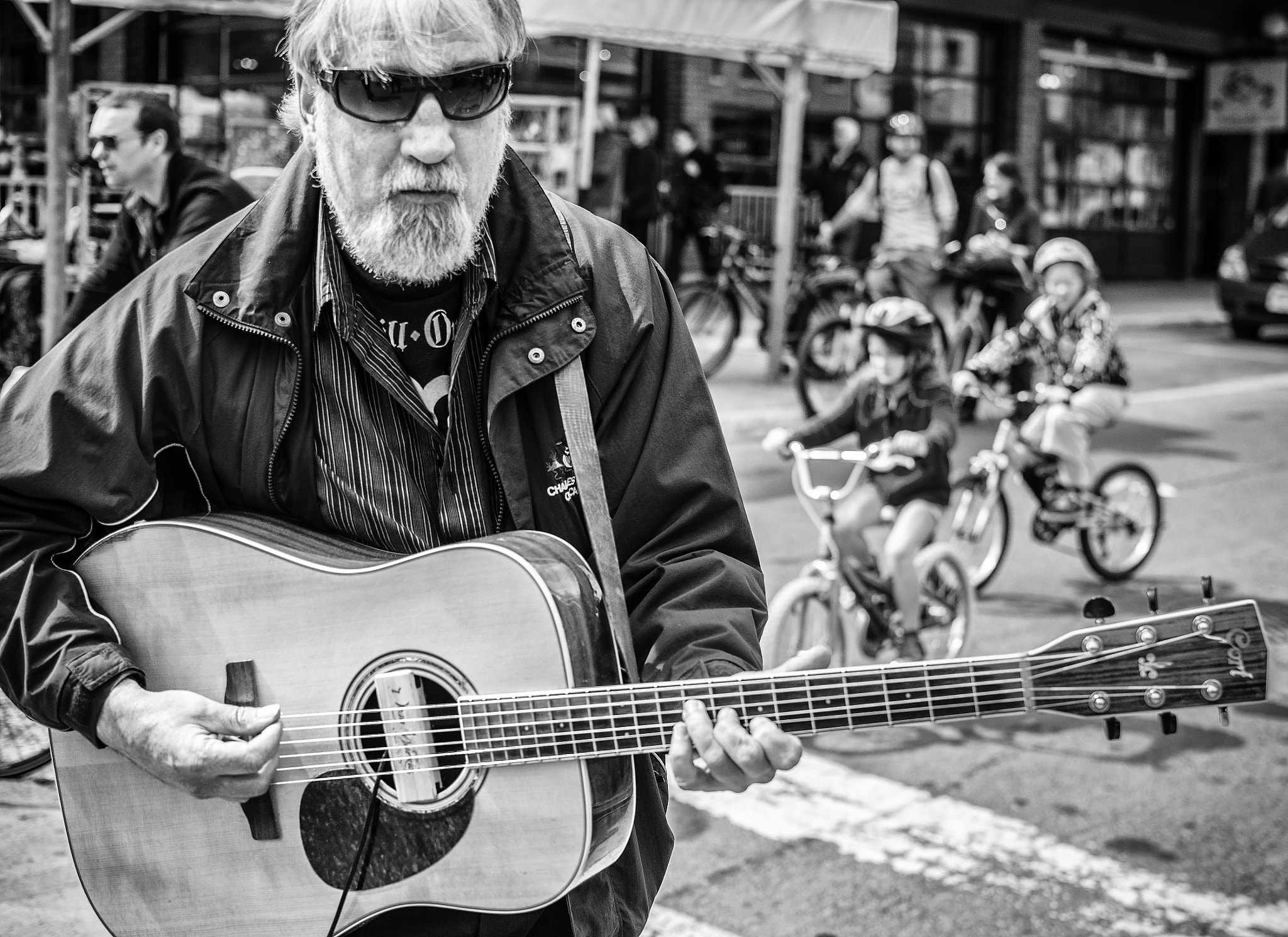 Photograph The Guitarist by Philip Rice on 500px