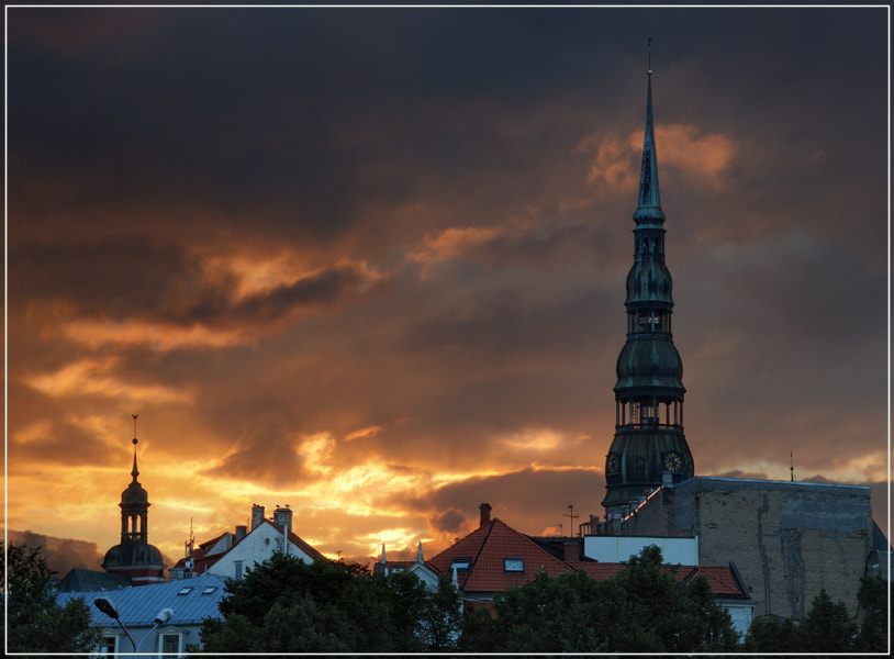 Photograph Riga. St. Peter's cathedral.  by Valerijs Kostreckis on 500px