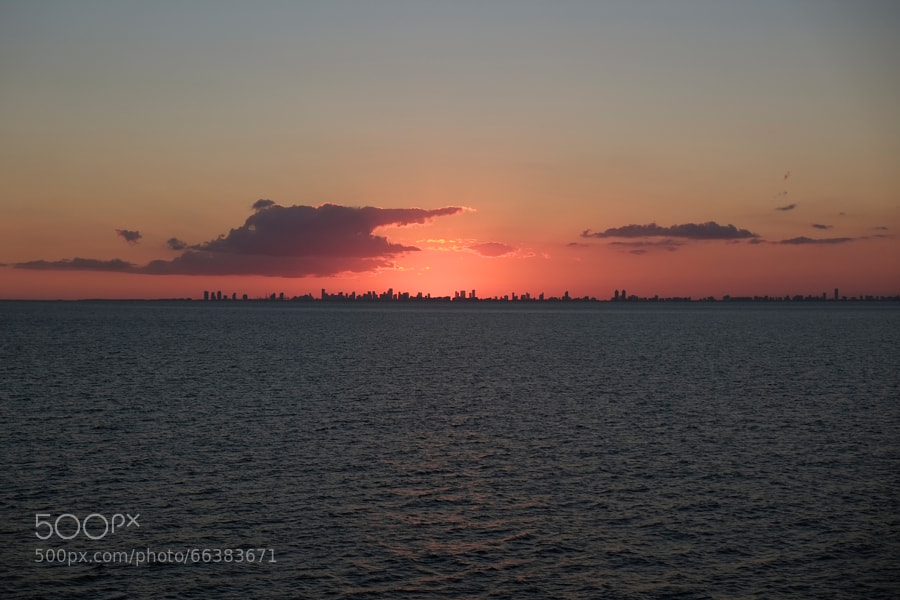 Photograph Sunset behind Fort Lauderdale by Alexander Hoffmann on 500px