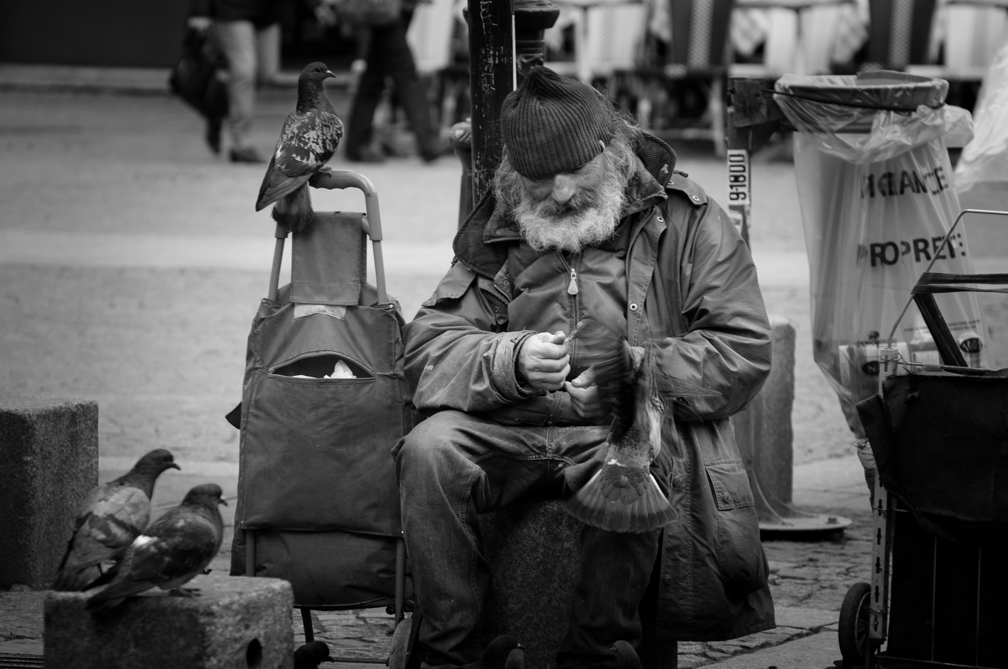 Photograph Misery on the streets by Patrick Guillon on 500px