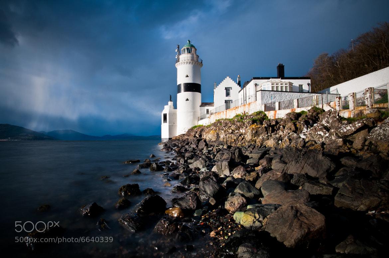 Photograph Cloch Lighthouse by Zain Kapasi on 500px