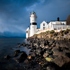 Cloch Lighthouse by Zain Kapasi (zainkapasi)) on 500px.com