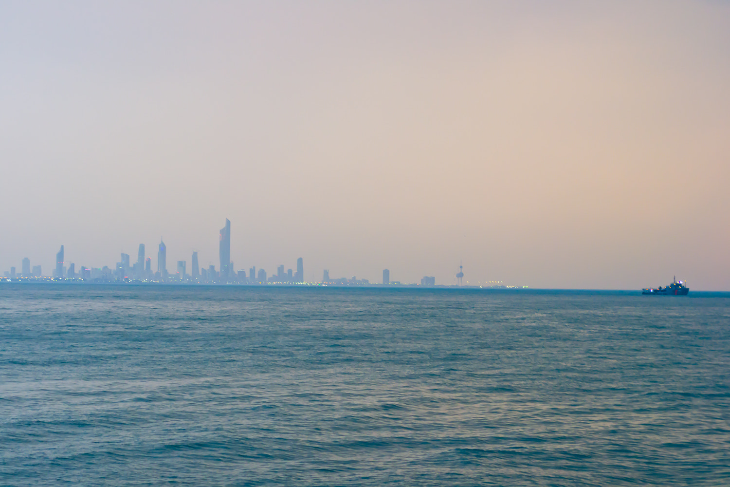 Photograph Kuwait Skyline on a Foggy Day by Yousef Abdul Husain on 500px