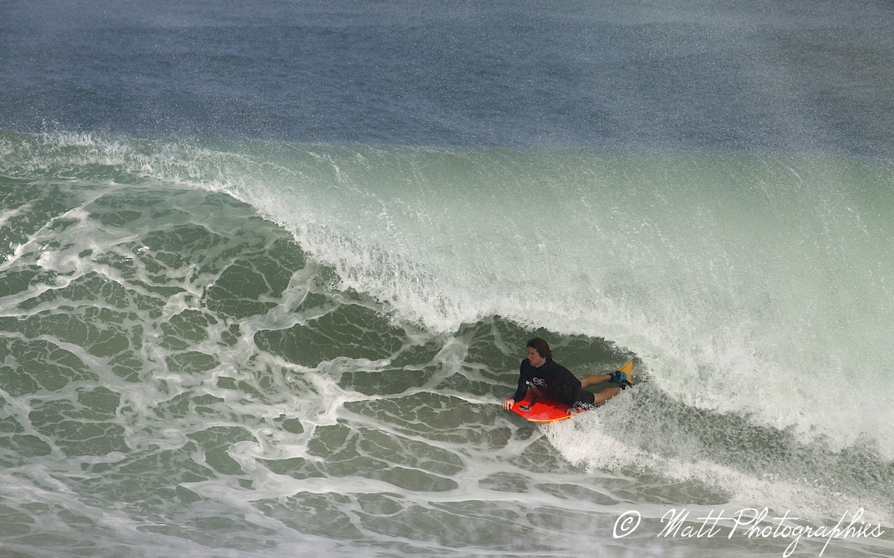 Photograph bodyboard barrel by Matthieu Lucas on 500px