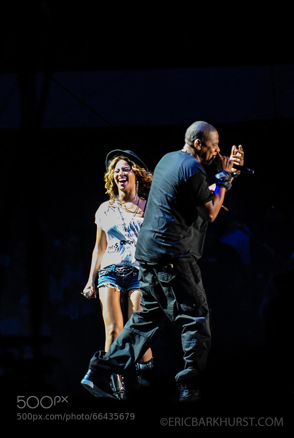 Photograph Jay-Z and Beyonce by Eric Barkhurst on 500px