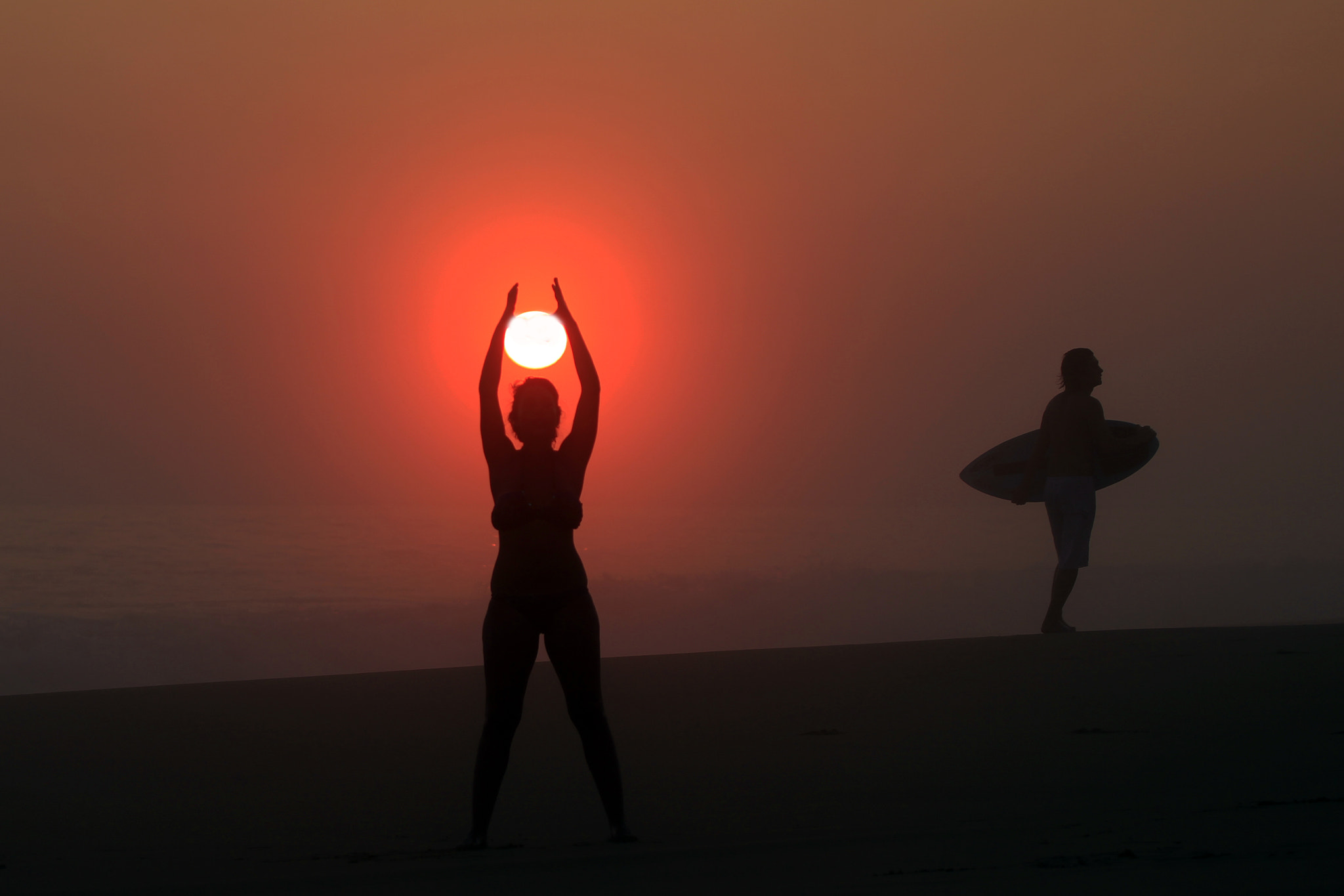 Photograph Sun, Yoga and Surf by Cristobal Garciaferro Rubio on 500px