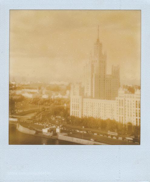 Photograph Kotelnicheskaya Embankment Building by lordey on 500px