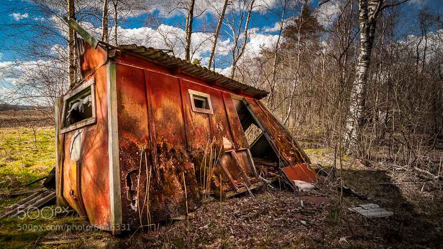 Photograph Old shed at Finjasjön by Magnus Larsson on 500px