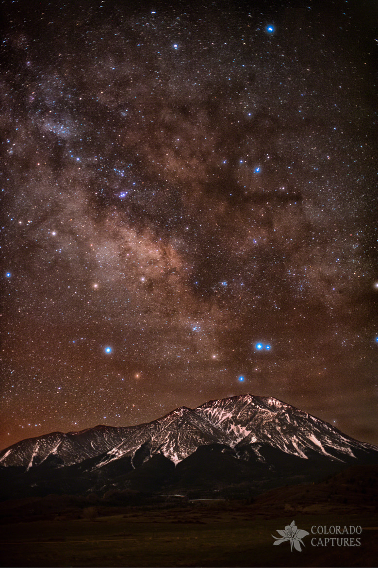 Photograph Diffused Milk Over The Spanish Peaks by Mike Berenson on 500px
