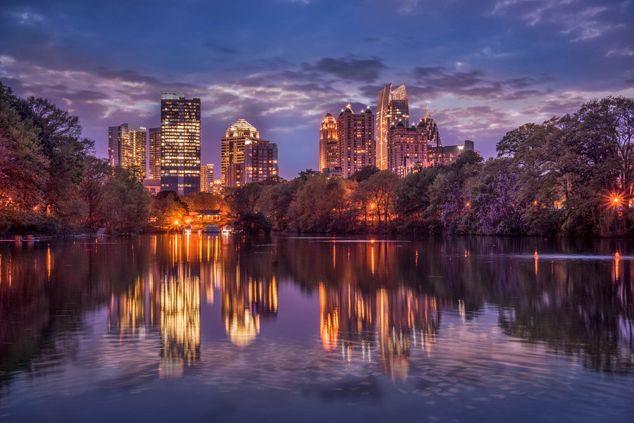 Atlanta Piedmont Park view