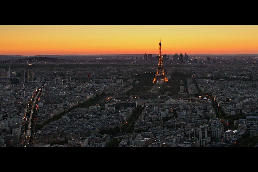Photograph Paris at Sunset by Carlos Gotay on 500px